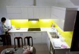 Thi công Tủ bếp ván gỗ An Cường tại Hà Nội