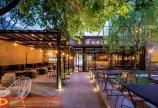 Thiết kế quán cafe sân vườn mang hơi thở từ phong cách industrial