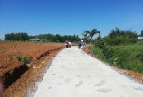 Đất sổ hồng 139-189tr/100m2 mặt tiền đường bê tông, gần KCN Bầu Xéo