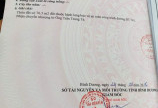 Cần Bán Gấp lô đất mặt tiền QL14 Chánh Phú Hòa, TX Bến Cát