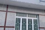 Nhà được xây dựng đúc suốt kiên cố 1 Lầu 1 Trệt