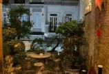 Bán Nhà Hẻm Xe Hơi Đường Huỳnh Tân Phát, Nhà Bè.  4 lầu full nội thất 81m1 giá 7tyx