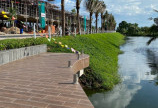 Bán nhà phố vườn mới xây full nội thấp, chỉ 1ty6 tại chợ Hung Long DT 5x16, sổ hồng 0939.964.588
