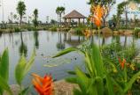 Đất 2MT gần chợ Hưng Long, 5x18m đường MT 12m sâu là công viên hồ thiên nga Cần Đước, Long An