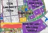 Bán lô đất nền F0 94m2, khu Công Nghiệp Yên Sơn- BẮc Lũng.Có sổ đỏ.